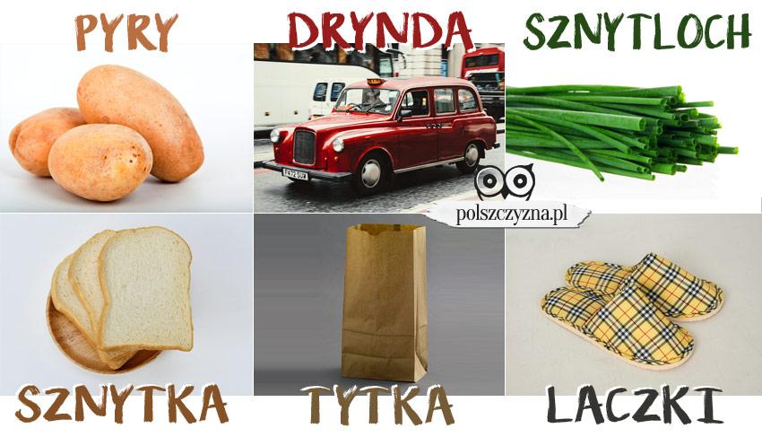 Gwara poznańska. Pyry, drynda, sznytloch, sznytka, tytka, laczki- Polszczyzna.pl