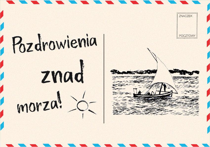 Pozdrowienia znad morza, czyli o pisowni przyimków złożonych - Polszczyzna.pl