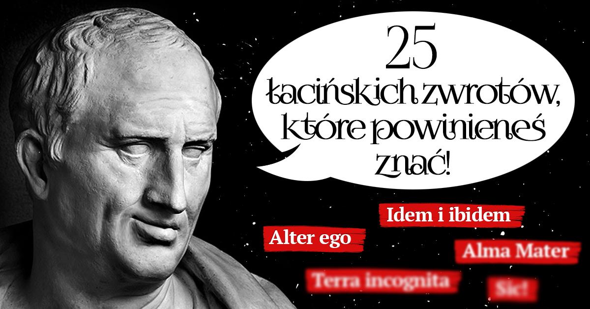 Łacińskie zwroty, które powinieneś znać - Polszczyzna.pl