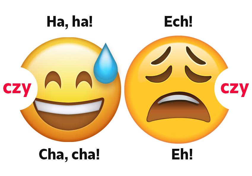 Ha ha czy cha cha? Zachwyt, rozpacz i śmiech, czyli och, ach, ha ha, cha cha - Polszczyzna.pl