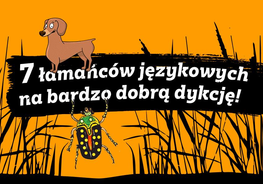łamańce Językowe Małgorzaty Strzałkowskiej ćwiczenia Na