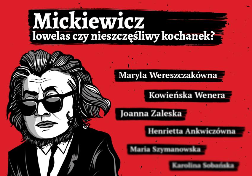 """Ciekawostki o Mickiewiczu – lowelas czy nieszczęśliwy kochanek z IV cz. """"Dziadów""""? - Polszczyzna.pl"""