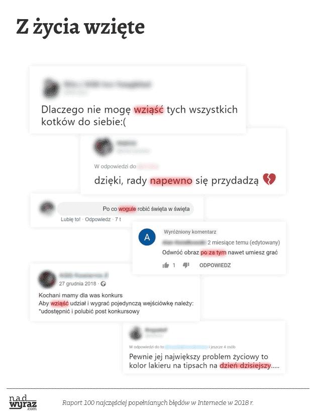 Błędy językowe NadwyrazCom