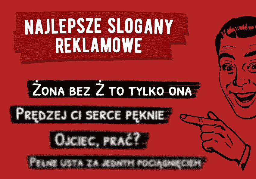 Najlepsze slogany reklamowe według czytelników Polszczyzna.pl