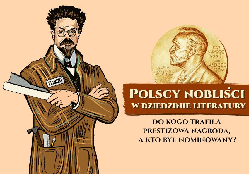 Polscy nobliści w dziedzinie literatury – do kogo trafiła prestiżowa nagroda, a kto był nominowany? - Polszczyzna.pl