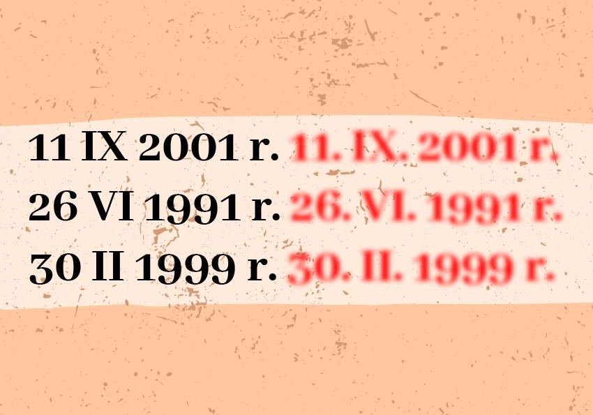 Liczby rzymskie czy arabskie definicja przykłady Polszczyzna.pl