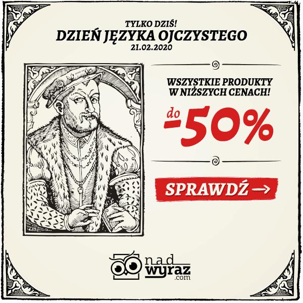 Do -50% w Nadwyraz.com