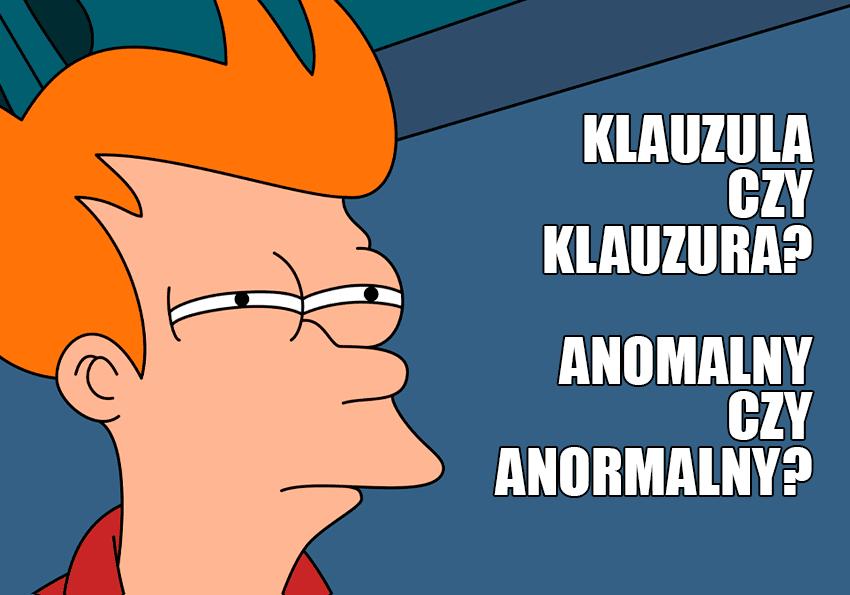 Paronimy - słowa mylone - Polszczyzna.pl
