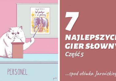 Gra słów od Jarońskiego Jaronizmy gry słów Polszczyzna.pl