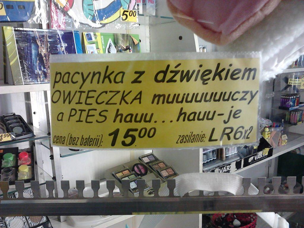 Perełki polszczyznowe prosto z ulicy. Część 6 wpadki językowe - Polszczyzna.pl