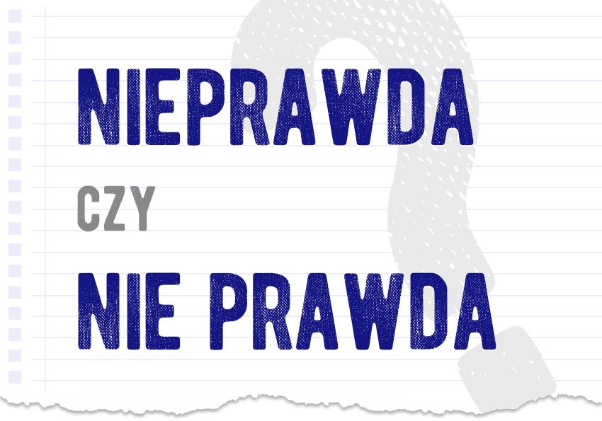 Nieprawda czy nie prawda poprawna forma pytanie rozwiązanie odpowiedź wyjaśnienie przykłady Polszczyzna.pl