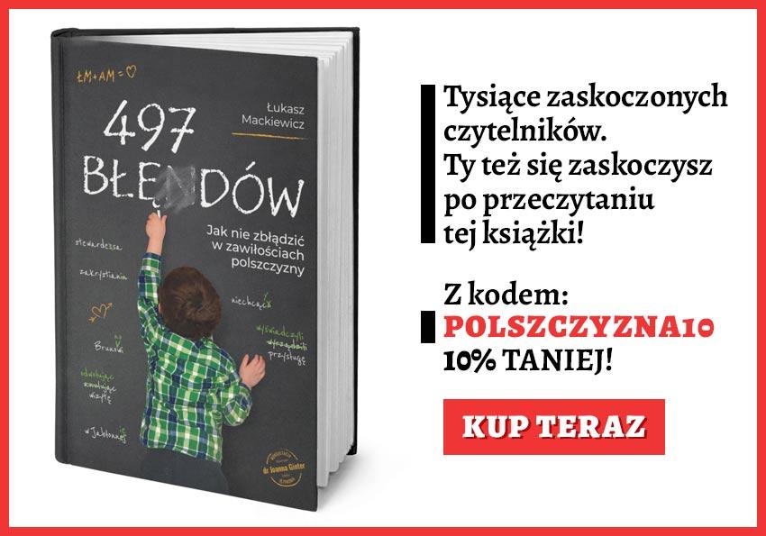 Książka 497 błędów