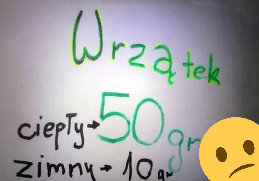 Perełki polszczyznowe prosto z ulicy. Wpadki błędy językowe Zabawne śmieszne żart Część 8 - Polszczyzna.pl