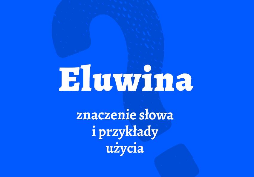 Eluwina co to jest co to znaczy czym jest cześć elo powitanie siema inaczej synonim jaka definicja hasło pojęcie młodzież po młodzieżowemu potoczny słownik miejski Polszczyzna.pl