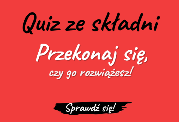 Quiz ze składni. Dyktando. Budowa wyrazów test sprawdzian składnia Polszczyzna.pl