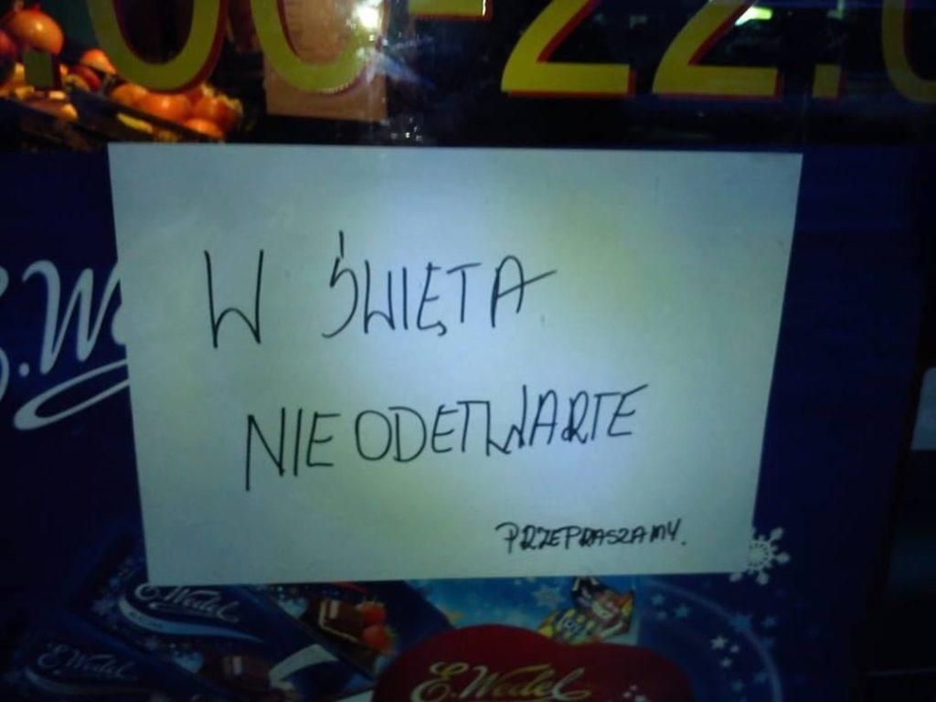święta perełki polszczyznowe prosto z ulicy. Wpadki błędy językowe Zabawne śmieszne żart Część 9 - Polszczyzna.pl