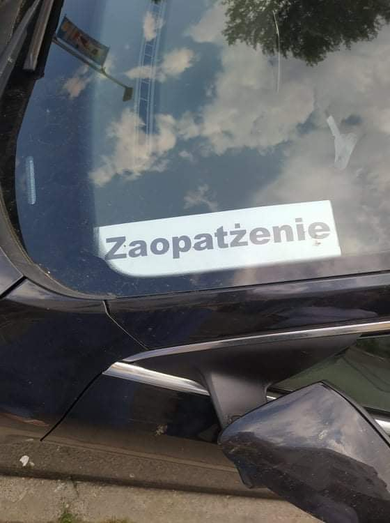 zaopatrzenie perełki polszczyznowe prosto z ulicy. Wpadki błędy językowe Zabawne śmieszne żart Część 9 - Polszczyzna.pl