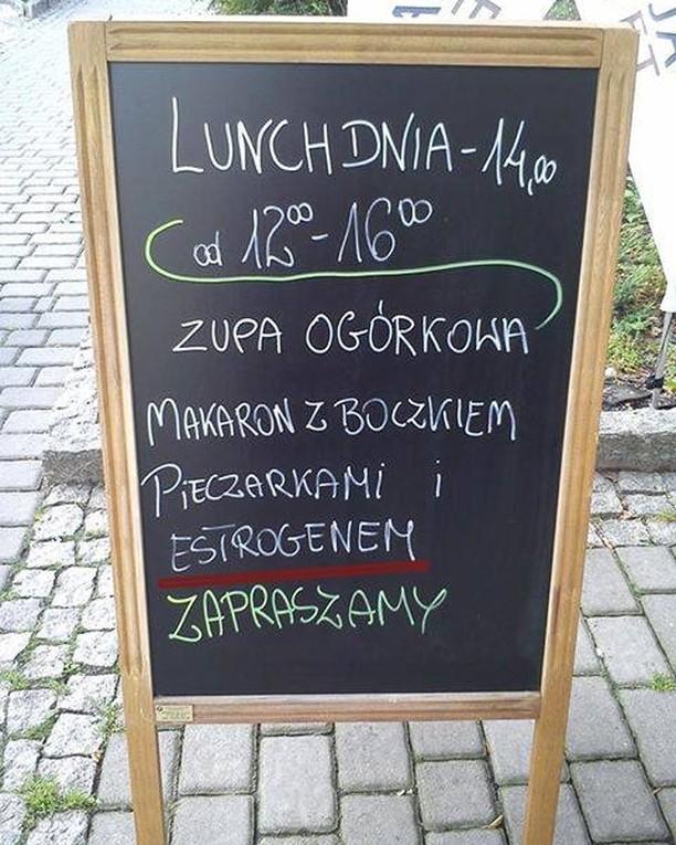 kuchnia perełki polszczyznowe prosto z ulicy. Wpadki błędy językowe Zabawne śmieszne żart Część 9 - Polszczyzna.pl