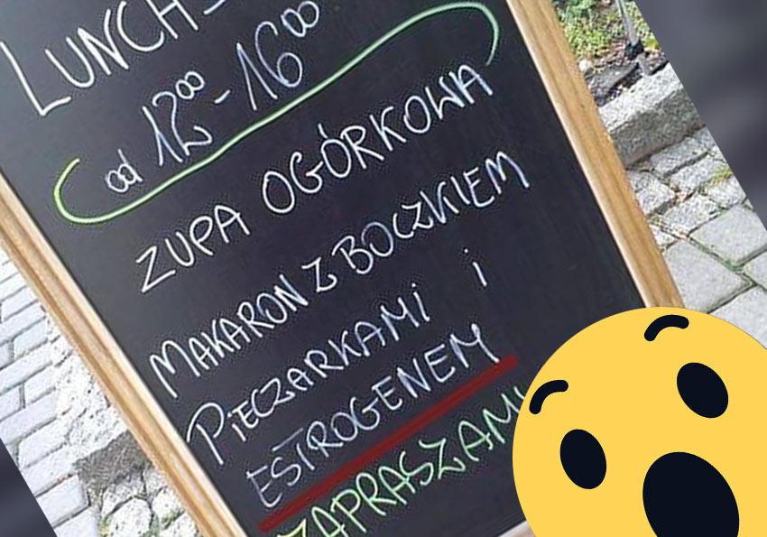 tort perełki polszczyznowe prosto z ulicy. Wpadki błędy językowe Zabawne śmieszne żart Część 9 - Polszczyzna.pl